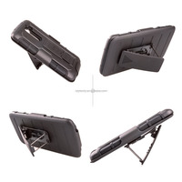 High Impact Hard Belt Clip Holster Durable Shell Case Combo For LG G2