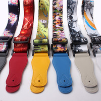 Factory price promotional high quality electric guitar strap