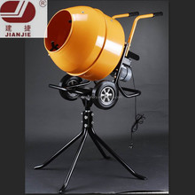 JS160L Mini Portable Electric Gasoline Diesel Cement Concrete Mixer