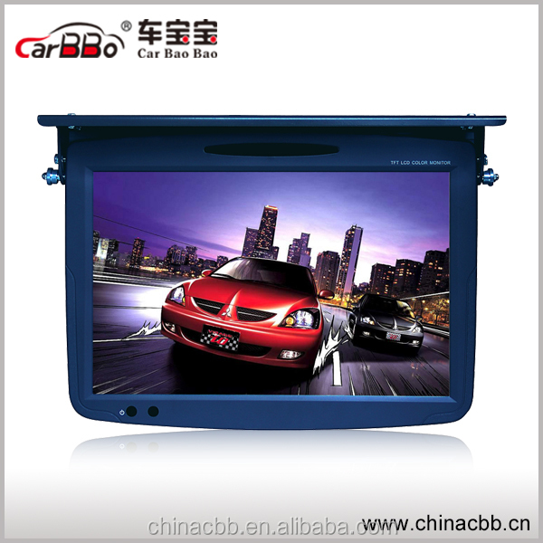 1080p high definition 19'' car roof mount lcd monitor with tv
