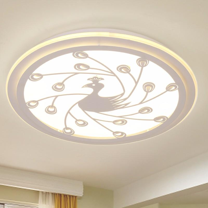 nuevo diseo llev la lmpara de techo lmpara de techo redondo para comedor dormitorio led