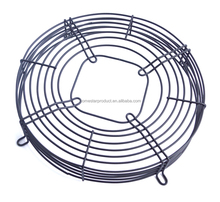 finger protect metal fan grid and fan protection grid/steel wire fan guard with powder coating