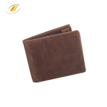 Custom Newest Design Mens Bifold Rfid Leather <strong>Wallet</strong> With Zipper