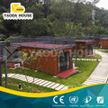 Luxury two storeys prebuilt container houses with architectural luxury design