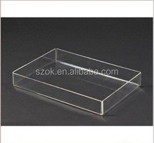 new style clear stacking acrylic trays
