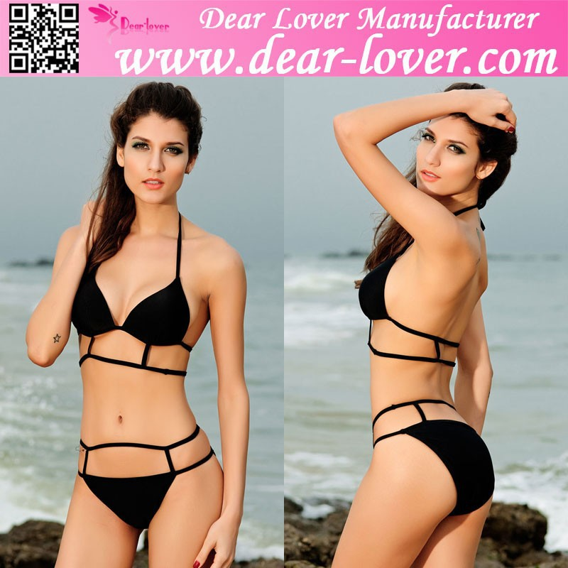 Dear-lover very hot top selling women sexy bikini swimwear xxl