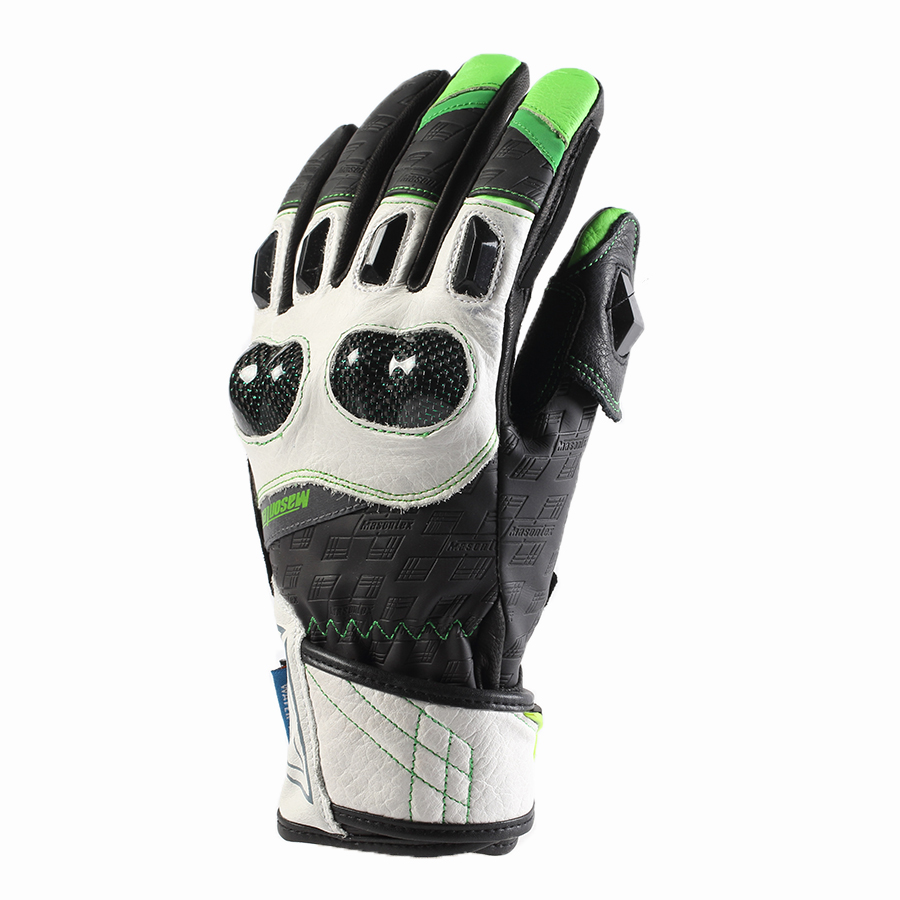 protective riding driving motor bike motocross leather motorcycle racing glove
