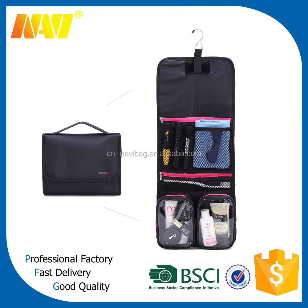 cosmetic bag train case