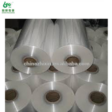 China blue film shrink bag/hot rolled/pe /pof shrink film for packing film