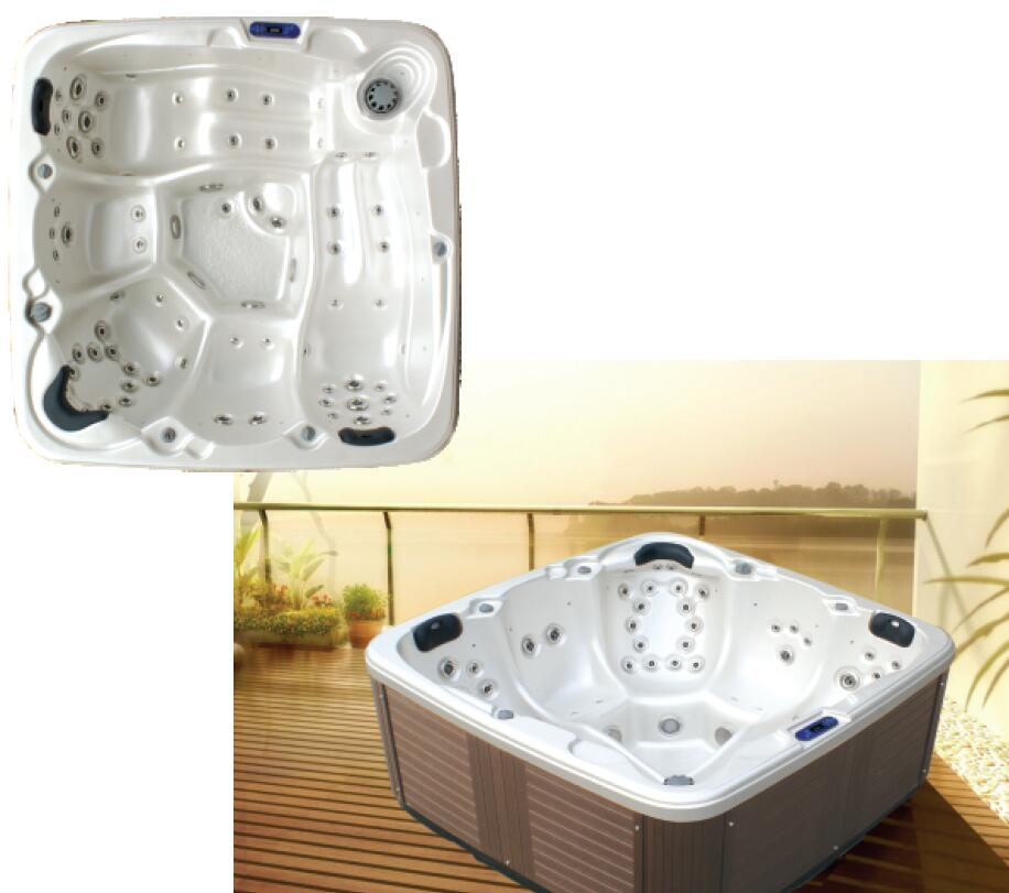 5 person aqua massage spa made in China