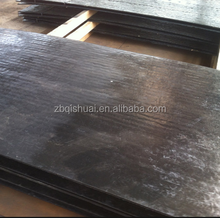 Wear resistant mild open arc welding steel plate.