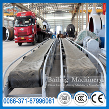 High quality rubber belt conveyor machine plus replacement parts for sale