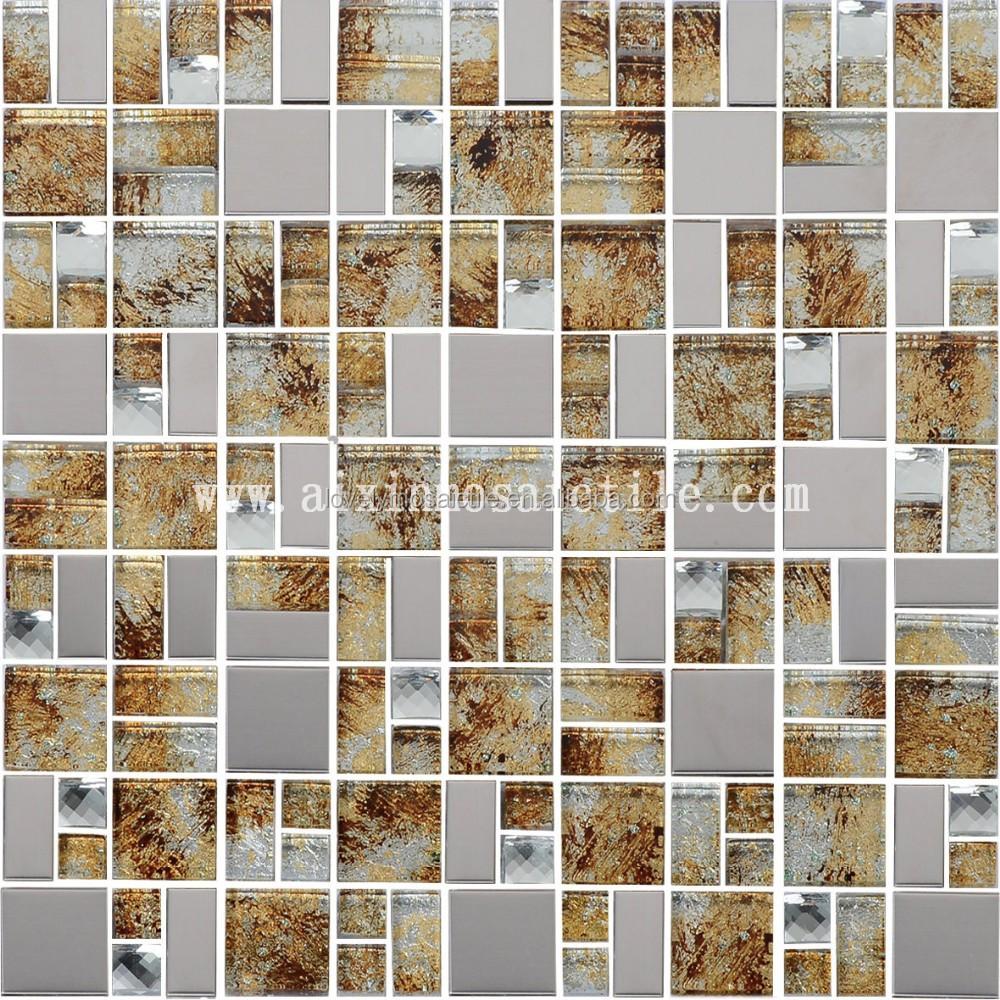 Serie de cristal laminado mosaico para la pared azulejos - Azulejos para mosaicos ...
