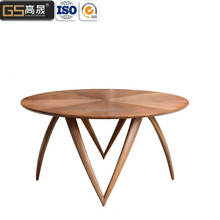 Modern leisure restaurant round dining tables and chairs