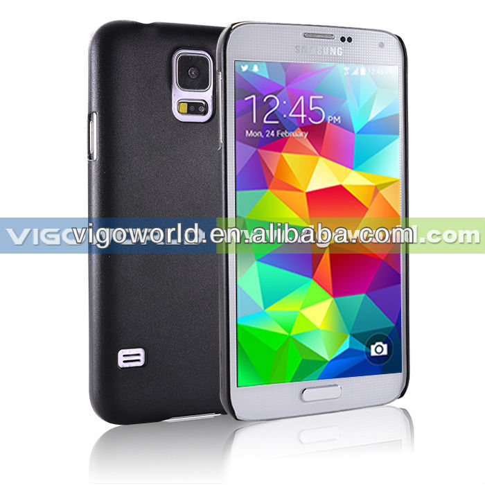 cystal rubberized PC cover case for samsung galaxy S5 hard shell