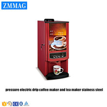 pressure electric drip coffee maker and tea maker stainess steel