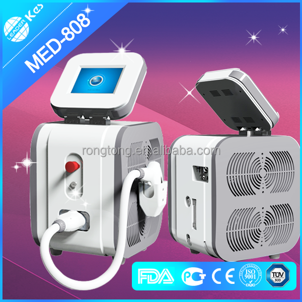 diode laser 808!!! 810nm diode laser hair removal factory machine/painless epilation laser
