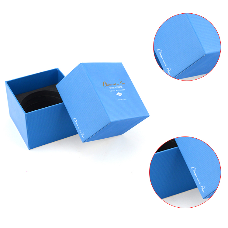 Cosmetic gift packaging box recycled small gift paper box