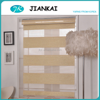 JK 2016 new design zebra blinds for home decor, decorative window blinds, printed window blinds