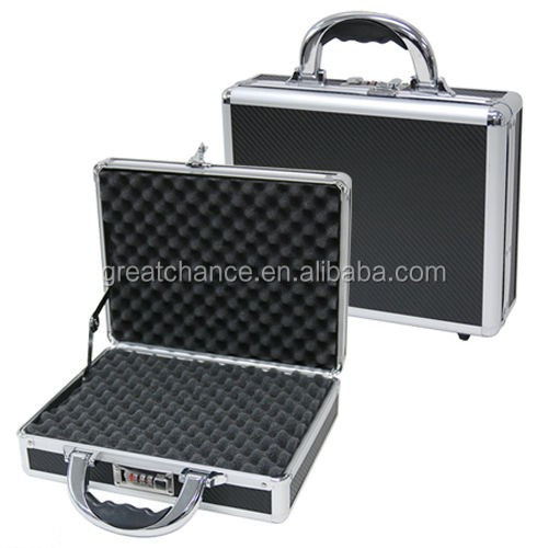 Single Pistol Gun Case w/combination lock Foam inside