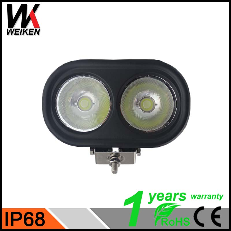WEIKEN 80W Spot Flood Combo Beam Truck Trailer LED Work 5000lm cob led work light