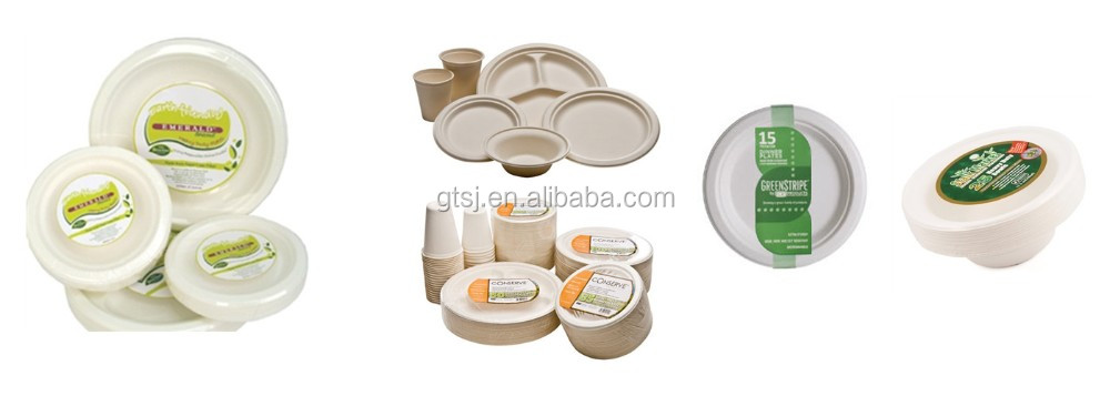 Paper Biodegradable Disposable Tableware(box,plate,dish,tray,cup,cutlery)