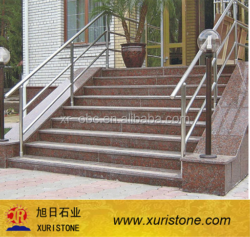 carmen red grabite outdoor spiral staircase stair railing design buy outdoor spiral staircase stair railing - Outdoor Spiral Staircase