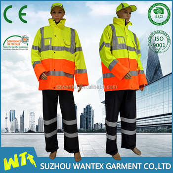 custom logo workwear winter work jackets