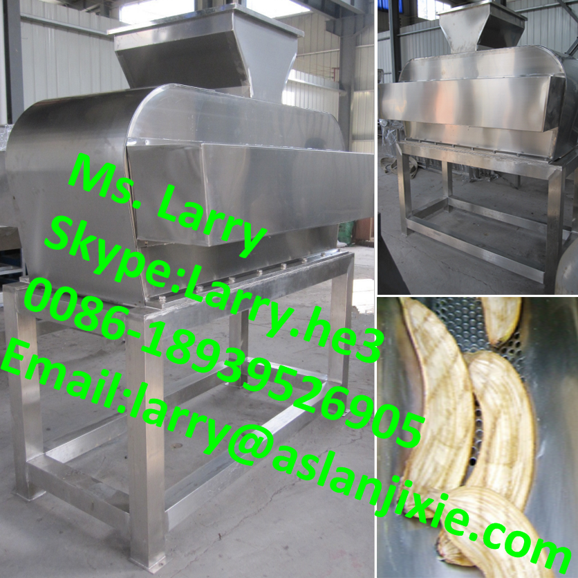 banana skin peeling machine/banana peeling machine