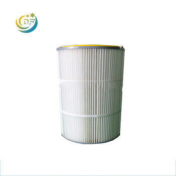 Air filter pp pleated cartridge filter