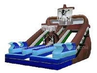 inflatable waterslides B4009