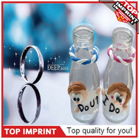 DIY Polymer Clay Bottles Souvenir Gifts