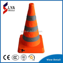 plastic cone for traffic/traffic safety product/road safety signs,portable road cone with plastic base