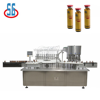 SG Vaccines And Other Large Volume Injection Liquid Filling Machinery For Production Line