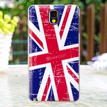 2014 hot sell mobile phone case national flag for samsung galaxy note 3 custom national flag phone case
