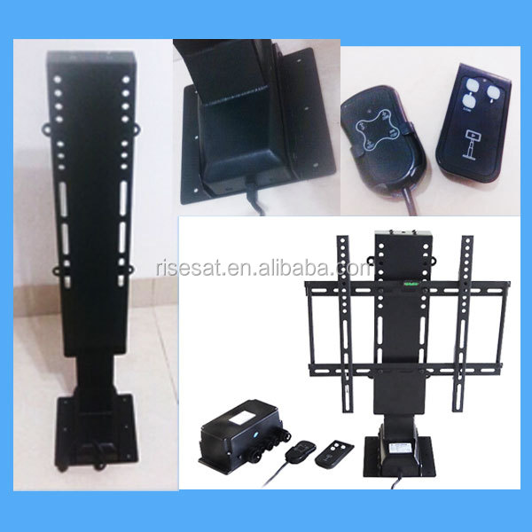 32 inch electric tv lift with remote control buy for Motorized lift for tv
