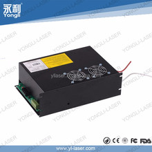 Yongli CE product 2017 hot sale co2 laser power supply 80w-100w