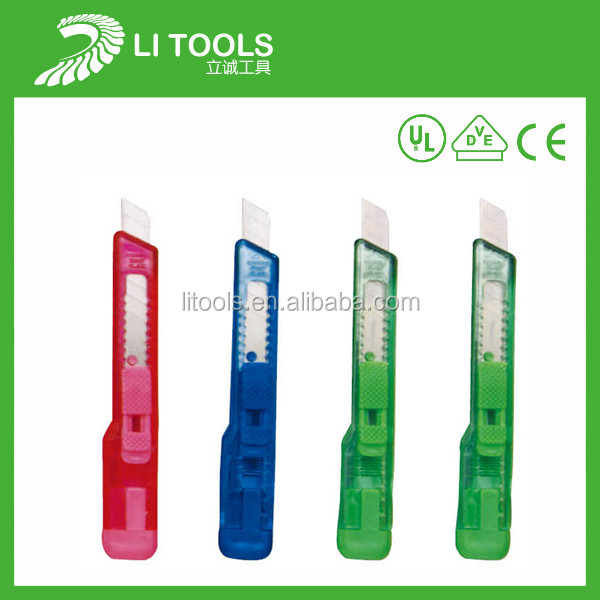 2014 new design utility knife safe knife