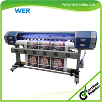 high quality best service, 1.6m WER-ES160, large format vinyl car wrap printer