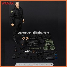 Realistic 12-inch Cop Military Action Figure
