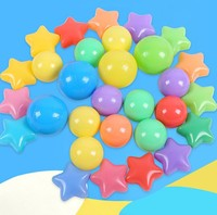 Wholesale colorful plastic ball pit balls for children