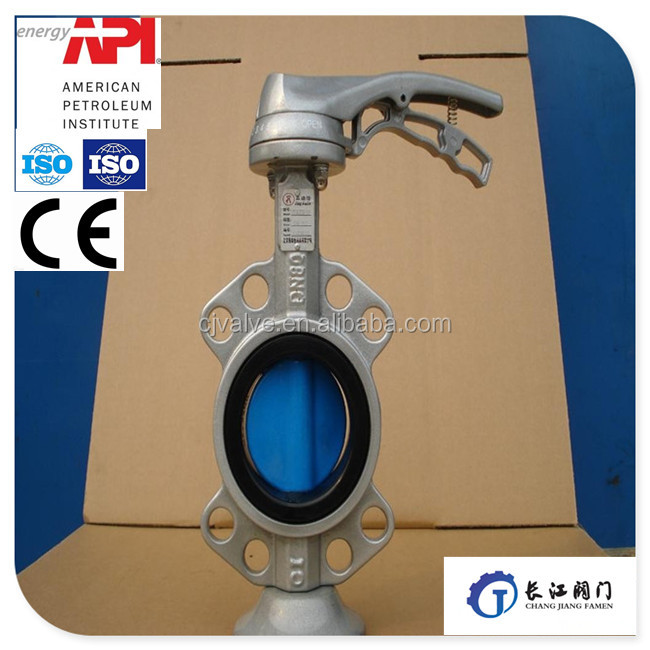 ANSI Big diameter cast iron and steel steel butterfly valve with Electric Actuator