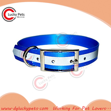 Reflective Secure TPU covering dog collar