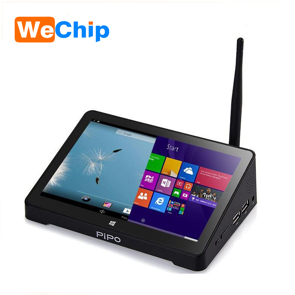 Factory Price Vplus X10 intel quad core ram latest dual OS mini pc/tv box pipo x8