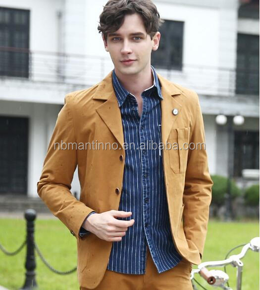 2017 Spring New Casual Slim Fit Man Suit Blazer