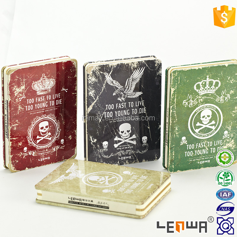 Rude Spine LENWA Metal Cover A5 Notebook