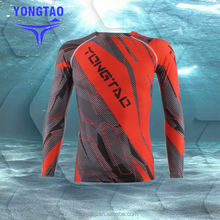 Rashguards / Men's Long sleeves rash guards mma rash guard