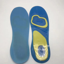 TV Newest Soft silica gel cushioning insole Silicone Damping Gel Insoles for shoes
