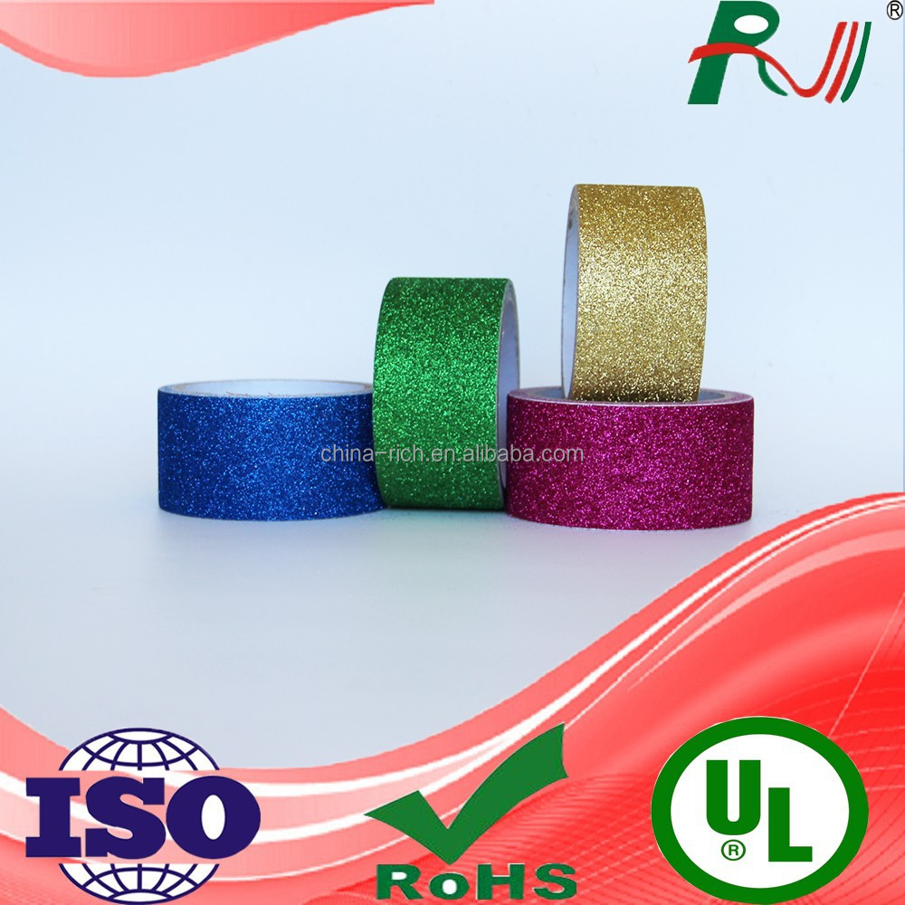 nature decorated car paint glitter tape for diverse industry