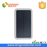 Fast charging 3 USB 5v 2A emergency 12000mah solar power bank wirless charger for apple mobile phone